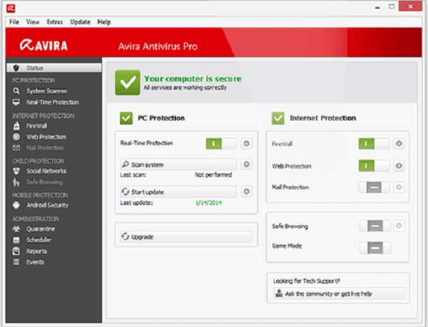 Avira Antivirus Pro 2021 Crack With License Key Free Download