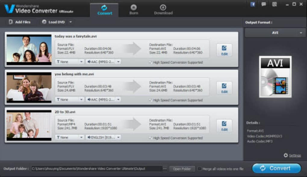 Wondershare Video Converter Ultimate 12.6.2.5 Crack + Torrent 2021 Free