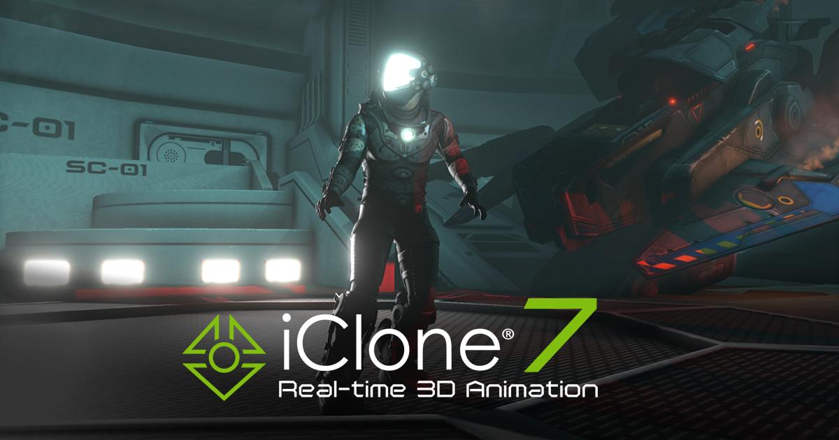 iClone Pro 7.92.5425.1 Crack 2021 Full Version [Resource Pack] Free