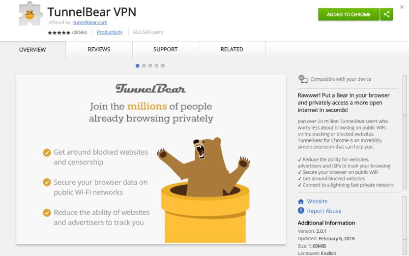 TunnelBear VPN 4.4.1 Crack + Activation Key Full Version 2021 Free