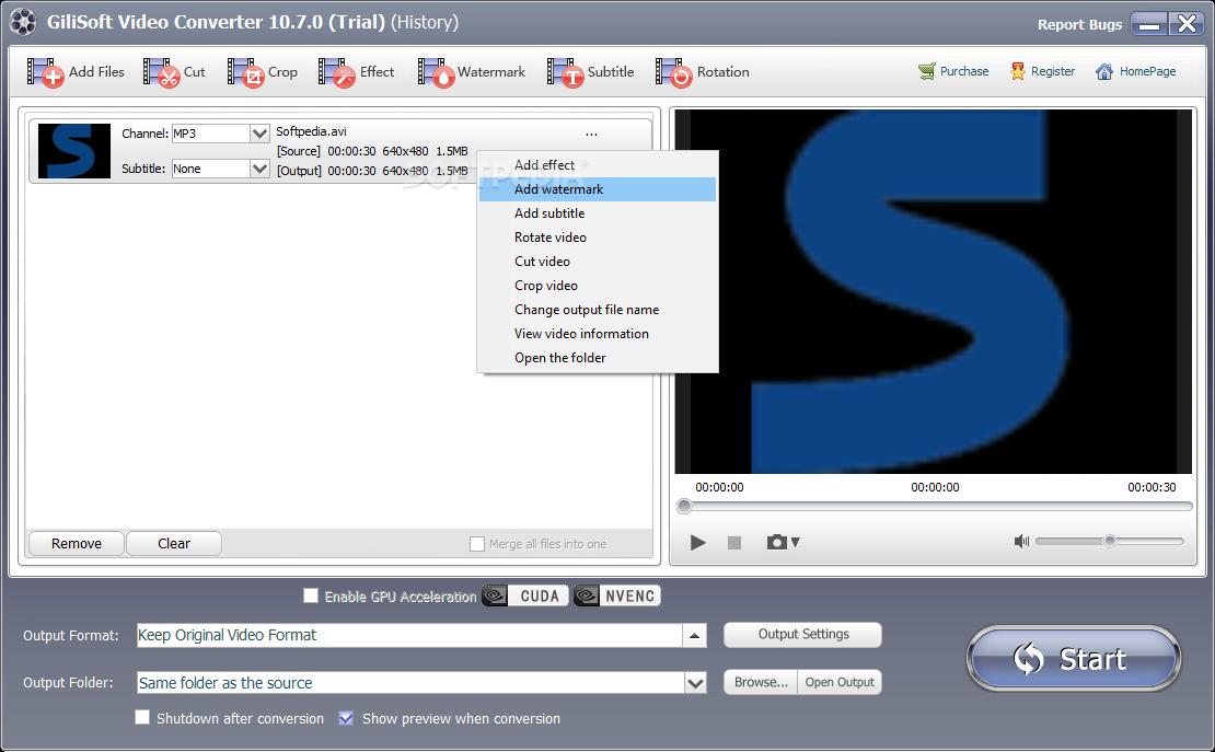 GiliSoft Video Converter 11.2.1 Crack + Serial Key 2021 [Latest] Free