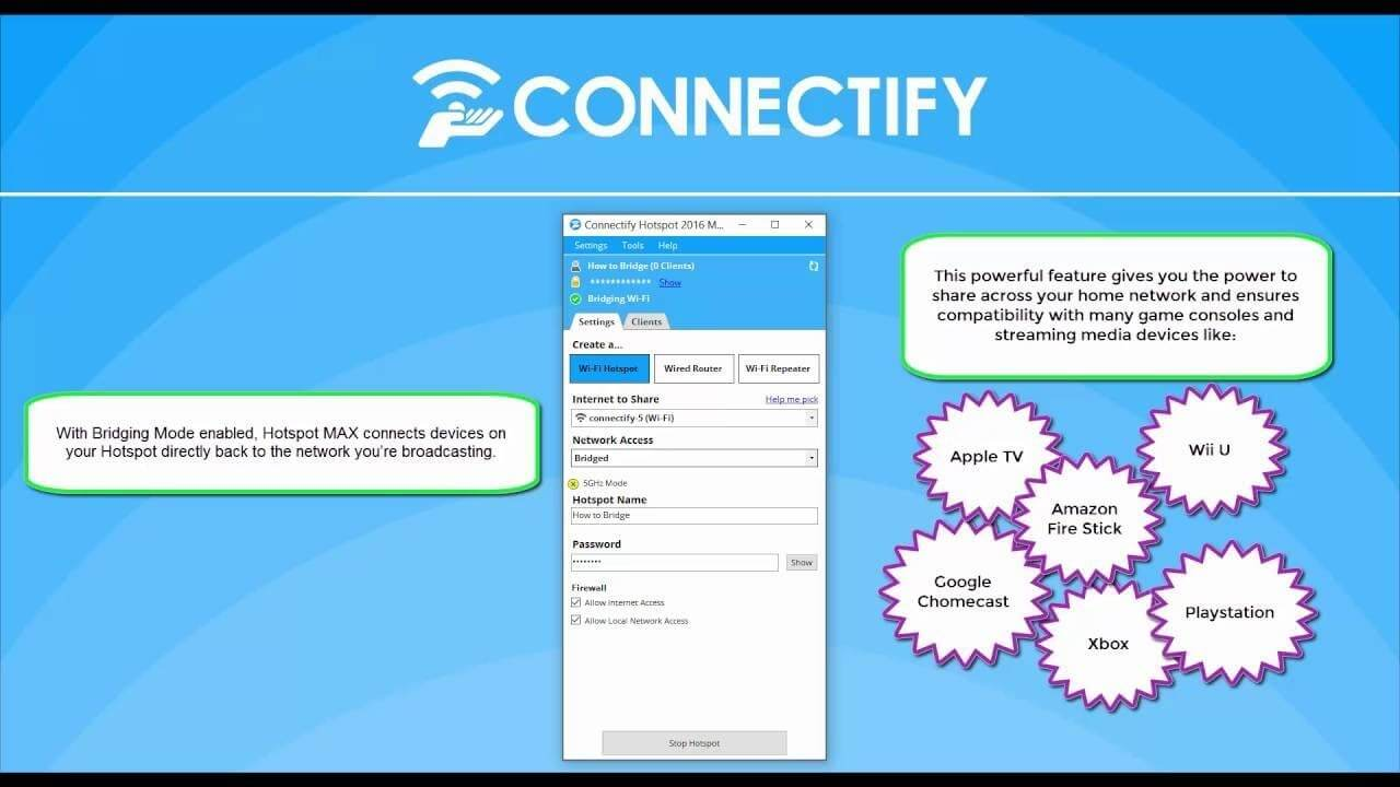 Connectify Hotspot 2021.0.1.40136 Crack With License Key Free
