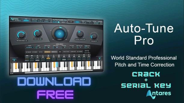 Antares AutoTune Pro 9.2 Crack + Serial Key 2021 Free Download