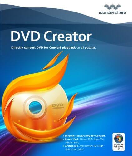 Wondershare DVD Creator 6.6.2 Crack + Registration Code 2021 Free