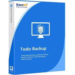 EaseUS Todo Backup Advanced Server 13.5.0.2 Crack + Keygen 2021 Free