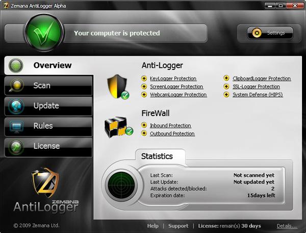 Zemana AntiLogger 2.74.2.664 Crack With License Key 2021 Free