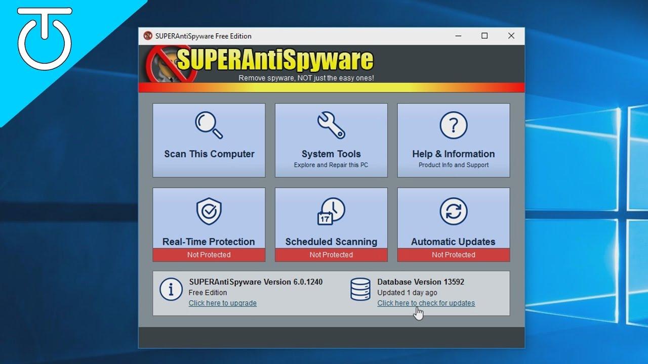 SuperAntiSpyware 10.0.1232 Crack With Lifetime License Key 2021 Free