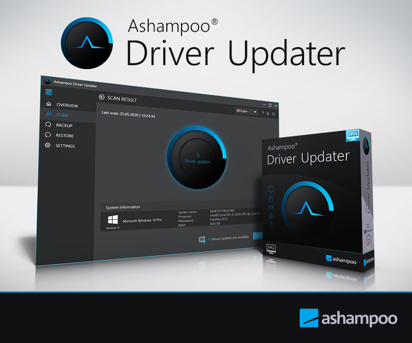 Ashampoo Driver Updater 1.5.0.0 Crack With Activation Key 2021 Free