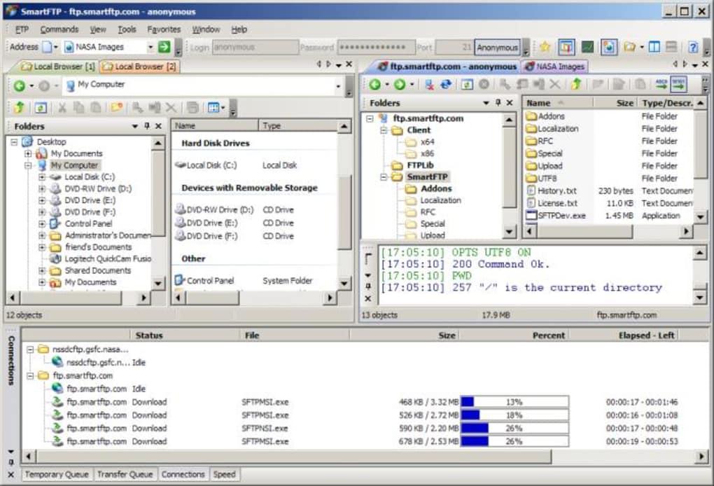 SmartFTP 10.0 Build 2917 Crack With Serial Key Free Download 2022